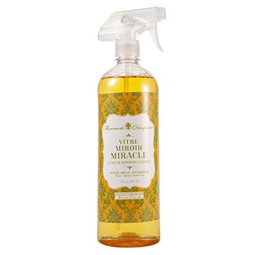 (Florence de Dampierre Glass & Mirror Cleaning Spray, 32 oz. - Orange Blossom)