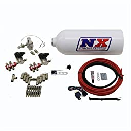 Nitrous Express (15137) 8-Cylinder Pumpless Direct Port Water Methanol System