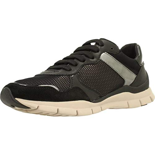 Sukie a Women's Trainers Geox D Black 8SxwEU