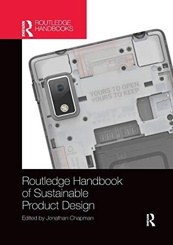 Routledge Handbook of Sustainable Product Design por Jonathan Chapman