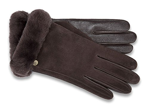 Ugg Women's Classic Suede Smart Glove 14 Brown MD