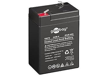 Akku kompatibel Injusa 6V 4Ah AGM Blei Accu Batterie wartungsfrei wie 4,5Ah 5Ah