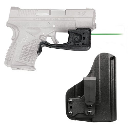 Crimson Trace Laser Guard Pro Springfield XD-S Laser, Green