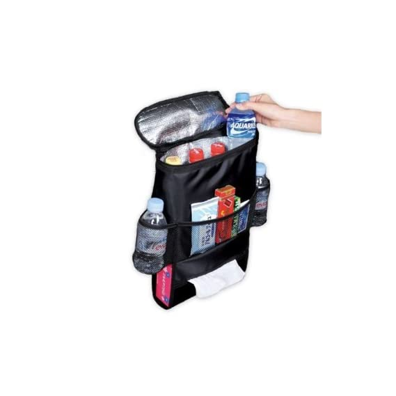 HPK Latest Car Back Seat Organizer Auto Seat Multi-Pocket Travel Storage Insulated Bag