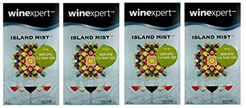 (Green Apple Riesling (Island Mist) (4-Pack))