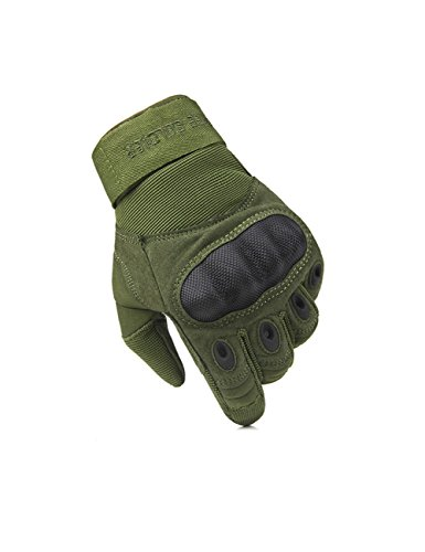 free-soldier-outdoor-men-military-hard-knuckle-full-finger-glove-tactical-armor-gloves-medium-armygr