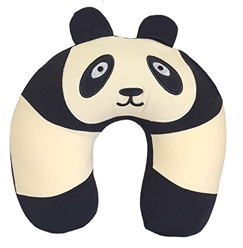 Yogibo Nap Mate Fun Animal Travel Neck Pillow for Kids or Adults (Panda) by Yogibo