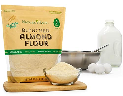 Bulkidoki Nature's Eats Blanched Almond Flour, 32 Ounce (32 Ounce)