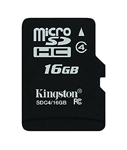 2190 opinioni per Kingston SDC4/16GB Memoria MicroSDHC con Adattatore SD, 16 GB, Class 4