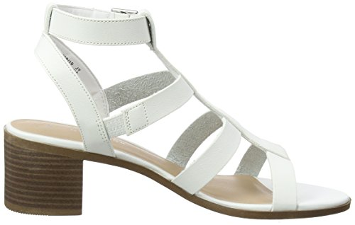 Aperta Donna 10 Punta Pop New White Sandali Look Turchese xq67xgH