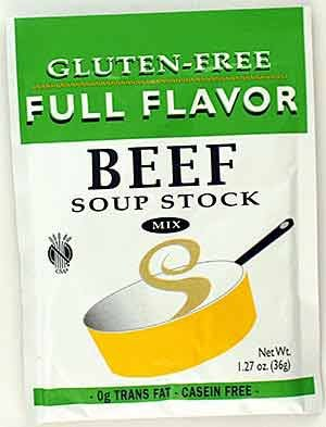 Full Flavor Foods Beef Stock Mix 1.27 Oz (12 Pack) by Full Flavor Foods