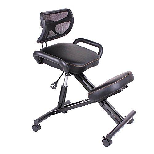 vogvigo ergonomic kneeling chair orthopaedic stool posture frame pu