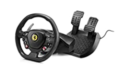 """Playstation 4 Officially Licensed racing wheel, for all racing games on PlayStation4, Built-in """"PS"""", """"SHARE"""" and """"OPTIONS"""" buttons for easy navigation of the PS4 system and in-games menus. 2-in-1 product: lets you change from the shifter (+/-..."""