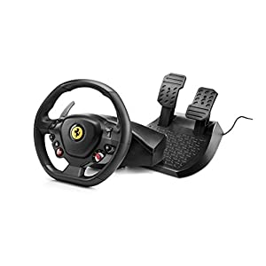 Thrustmaster T80 Ferrari 488 GTB Edition volante de carreras para PS4/PS5/PC