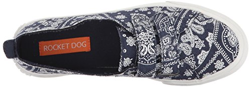 Cotton Cali So Calani Rocket Navy Womens Rocket Sneaker Dog Dog wWnBYq5x0F