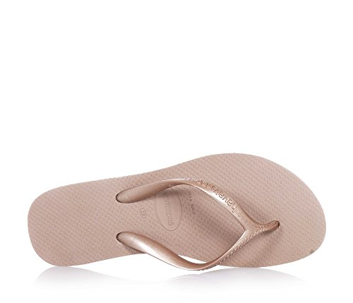 Havaianas , Tongs pour femme or rose gold