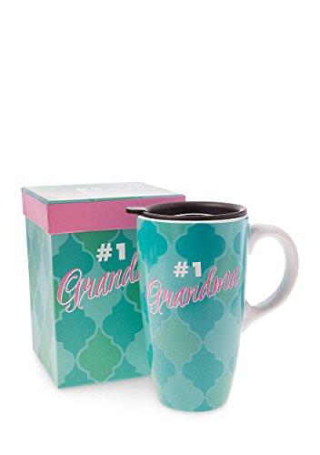 Home Accents 16oz Latte Mug in Gift Box (#1 Grandma) (Grandma 1 Mug)