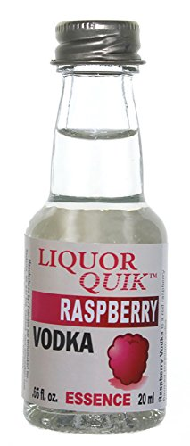 Liquor Quik Natural Vodka Essence 20 mL (Raspberry Vodka)