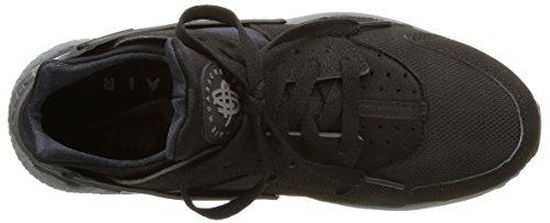 Nike Air Sneakers Huarache Formateurs 318429 Mens Chaussures Noir Noir Noir Gris Foncé 010