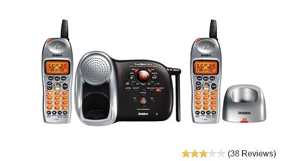 amazon com uniden dct 648 2 2 4 ghz expandable cordless phone with rh amazon com Uniden Owner's Manual Uniden Answering Machine Manual