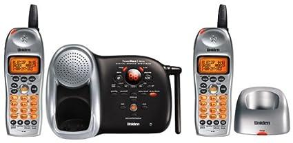 amazon com uniden dct 648 2 2 4 ghz expandable cordless phone with rh amazon com