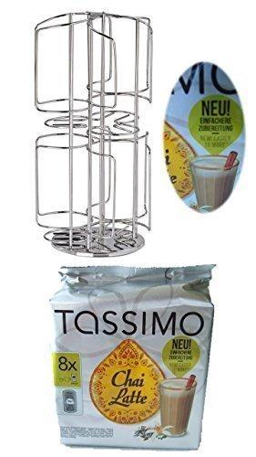 Bosch Tassimo Portacápsulas para 48 Pieza T-Discs nuevo para 6 Variedades en lugar de