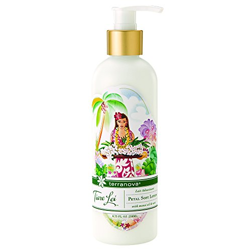 - Terranova Tiare Lei Petal Soft Lotion with Monoi Oil and Nono, 8.75 Ounce