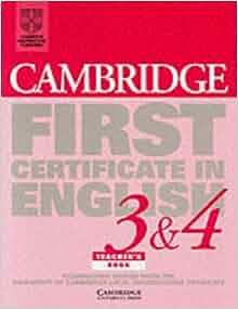 cambridge first certificate in english 1 pdf