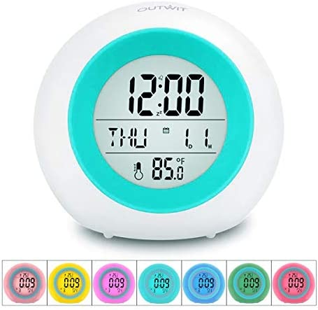 OUTWIT Clock%E3%80%90Updated Version%E3%80%91 Childrens Temperature product image