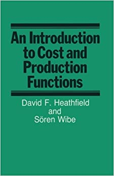 Book An Introduction to Cost and Production Functions