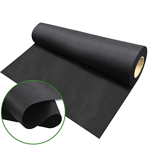 Agfabric Landscape WB23-4x50ft Ground Cover Weed Barrier Fabric,Weed Control, for Gardening Mat and Landscape Fabric for Raised Bed