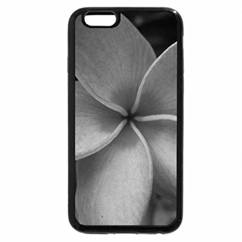 iPhone 6S Plus Case, iPhone 6 Plus Case (Black & White) - Plumeria for Dear Friend Adi