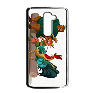 LG G2 Cell Phone Case Covers Black Robin Hood Character Alan-a-Dale TQ7185751