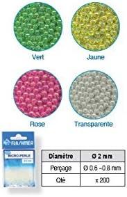 Microperlas escobillas 2/mm/ /sach /ne/ón rosa/ 200