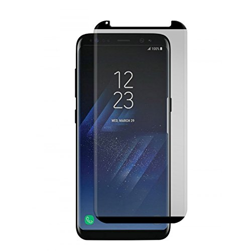 Gadget Guard Black Ice Cornice 2.0 Full Adhesive Curved Tempered Glass Screen Guard For Samsung Galaxy S8 - GGBIC2C208SS01A by Gadget Guard