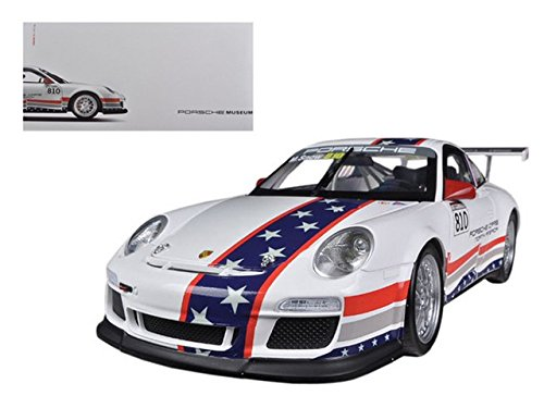 Porsche North America Team 911 GT3 CUP USA # 810 Museum Collection 1/18 by Welly 18033MB-GT-12A (Cup Gt3 Porsche)