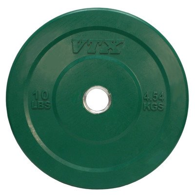 VTX Colored Bumper / Training Plate Weight: 10 lbs by Troy Barbell