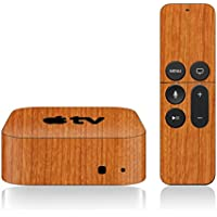 iCarbons Light Wood Skin for Apple TV 4th Gen. / Remote Skin Included 4th Generation