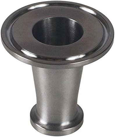 Concentric Reducer - Stainless Steel SS304 // 3A Glacier Tanks - 3 Pack Tri Clamp 1 inch x 3//4 in