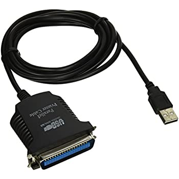 Amazon.com: Tripp Lite USB a Paralelo Impresora Cable (USB-A ...