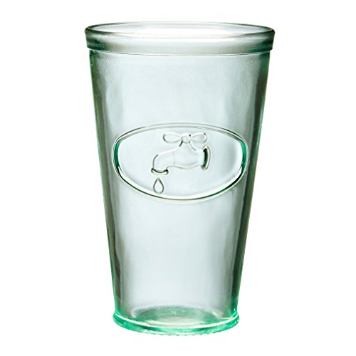 Amici Water Tap Collection Hiball Glasses, 16 oz - Set of 6 ()