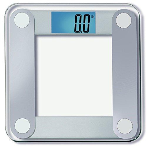 EatSmart Precision Digital Bathroom Scale w/ Extra Large Lighted Display, 400 lb Free 1 yr Protection From Assurant by EatSmart
