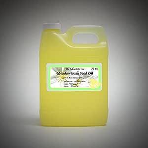 Meadowfoam Seed Oil Pure Organic by Dr.Adorable 32 Oz/ 1 Quart
