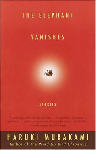 Book cover for The Elephant Vanishes