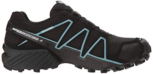 black Trail metallic Nero Speedcross 4 Salomon Donna Scarpe Bubble Running Blue Da Gtx black ZvnAT