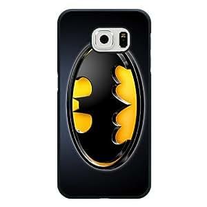 Galaxy S6 Case, Customized Black Hard Plastic Galaxy S6 Case, Batman Galaxy S...