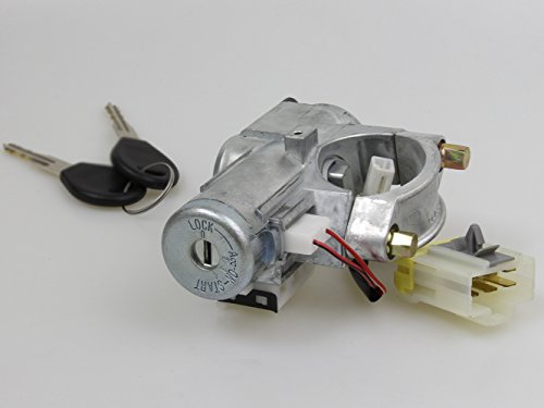 Ignition Cylinder Steering Lock New Set Fit For NISSAN 240SX S14 1994 95 96-1998 A/T ()