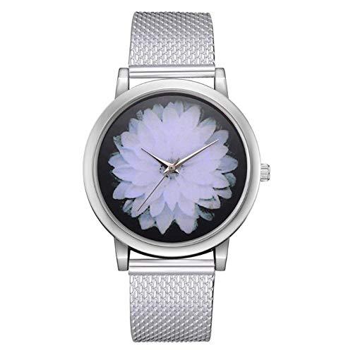 HZBIOK Reloj Mujer 2019 3D Relojes De Cuarzo De Flores ...