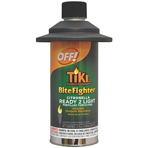 Tiki Bitefighter Torch Fuel Canister Cedar
