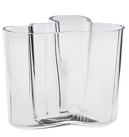 Amazon Iittala Aalto 4 34 Inch Clear Glass Vase Home Kitchen